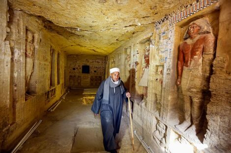 В Египте обнаружена нетронутая гробница возрастом 4400 лет