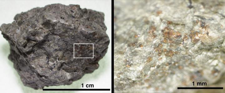 Строительные блоки жизни найдены в знаменитом Марсианском метеорите