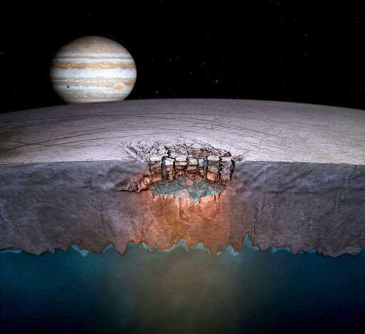 Есть ли инопланетяне подо льдом?