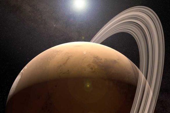 У древнего Марса были кольца