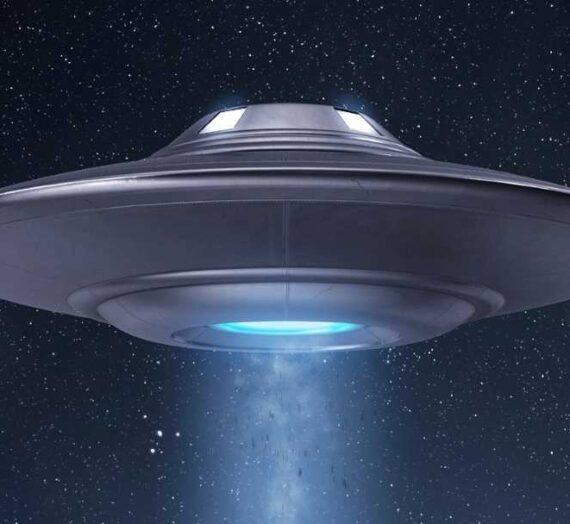 Воздушный бой между двумя НЛО был инопланетным