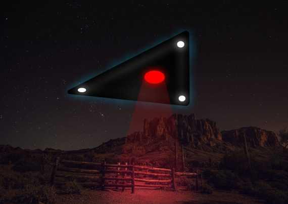 """""""Летающие треугольники"""": НЛО. Это не новинка."""