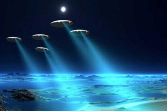 Загадочное вторжение НЛО в 1973 году